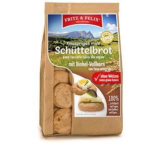 Mini spelt Schüttelbrot