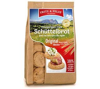Mini Schüttelbrot Original mit Kümmel und Fenchel 125g