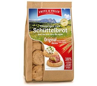 Mini Schüttelbrot originale con cumino & finocchio 125g