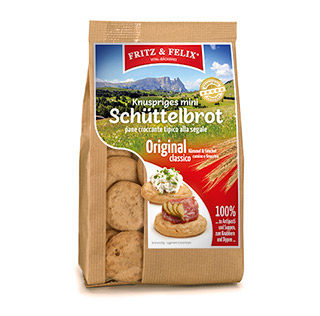 Mini Schüttelbrot traditional cumin and fennel 125g
