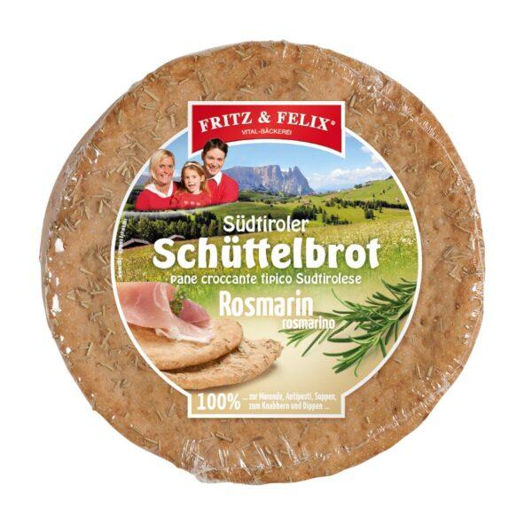 Schüttelbrot con rosmarino