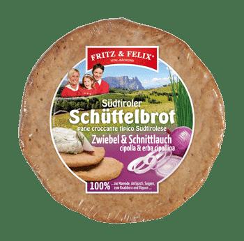 Schüttelbrot con cipolla