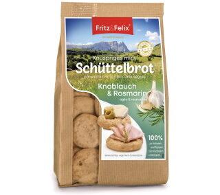 Mini Schüttelbrot con aglio e rosmarino 125g