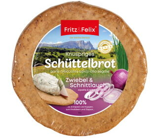 Schüttelbrot with onion & chives 150g