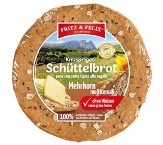 Schüttelbrot con farro e fiocchi d'avena 150g