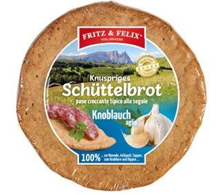 Schüttelbrot con aglio