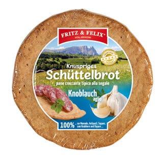 Schüttelbrot con aglio 150g