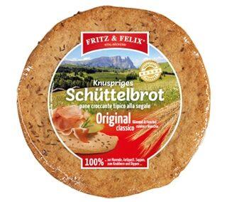 Schüttelbrot Original mit Fenchel und Kümmel 150g