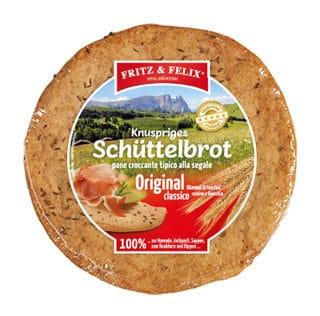 Schüttelbrot Originale con cumino & finocchio 150g