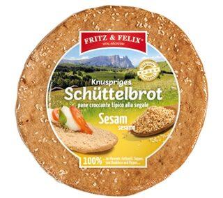 Schüttelbrot con semi di sesamo