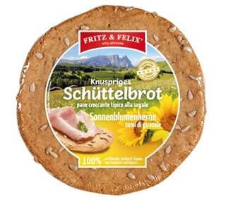 Schüttelbrot con semi di girasole