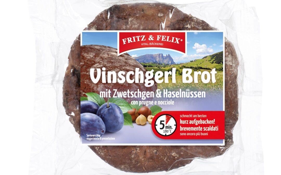 Vinschgerl Brot con prugne e nocciole 300g